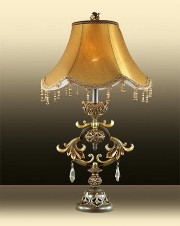 Настольная лампа SAFIRA 2802/1T фото