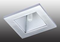 Встраиваемый неповоротный светильник с защитным матовым стеклом QUADRO II 369168