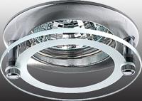 Декоративный встраиваемый неповоротный светильник ROUND 369172