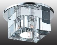 Декоративный встраиваемый неповоротный светильник CUBIC 369226