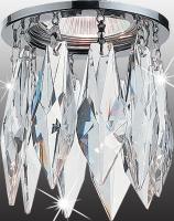 Декоративный встраиваемый неповоротный светильник LINN 369259