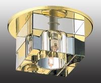 Декоративный встраиваемый неповоротный светильник CUBIC 369261