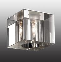 Декоративный встраиваемый неповоротный светильник CUBIC 369276
