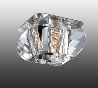 Декоративный встраиваемый неповоротный светильник VETRO 369285