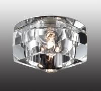 Декоративный встраиваемый неповоротный светильник VETRO 369299