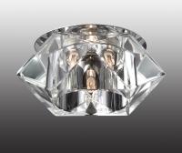 Декоративный встраиваемый неповоротный светильник VETRO 369300