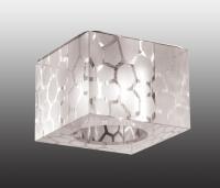 Декоративный встраиваемый неповоротный светильник CUBIC 369425