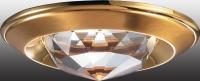 Декоративный встраиваемый неповоротный светильник GLAM 369428