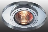 Декоративный встраиваемый неповоротный светильник MIRROR 369437