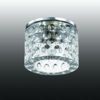 Декоративный встраиваемый светильник OVAL 369461
