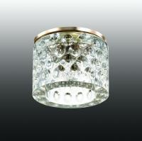 Декоративный встраиваемый светильник OVAL 369462