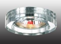 Декоративный встраиваемый светильник GLASS 369487