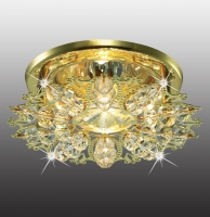 Декоративный встраиваемый неповоротный светильник AURORA 369497