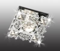 Декоративный встраиваемый неповоротный светильник AURORA 369500