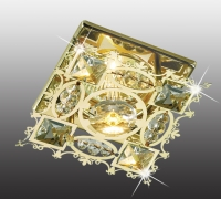 Декоративный встраиваемый неповоротный светильник AURORA 369501