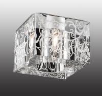 Декоративный встраиваемый неповоротный светильник CUBIC 369514