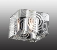 Декоративный встраиваемый неповоротный светильник CUBIC 369515