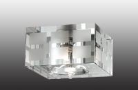 Декоративный встраиваемый неповоротный светильник CUBIC 369535