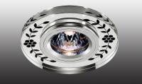 Декоративный встраиваемый неповоротный светильник MIRROR 369541