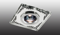 Декоративный встраиваемый неповоротный светильник MIRROR 369543