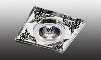 Декоративный встраиваемый неповоротный светильник MIRROR 369544