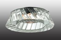 Декоративный встраиваемый неповоротный светильник STORM 369549