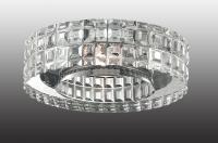 Декоративный встраиваемый неповоротный светильник STORM 369550