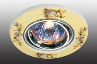 Декоративный встраиваемый поворотный светильник CERAMIC 369551