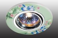 Декоративный встраиваемый поворотный светильник CERAMIC 369554