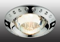 Декоративный встраиваемый неповоротный светильник GLAM 369646
