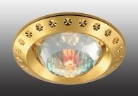 Декоративный встраиваемый неповоротный светильник GLAM 369648
