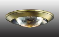 Декоративный встраиваемый неповоротный светильник GLAM 369649