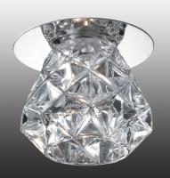 Декоративный встраиваемый светильник CRYSTAL 369673