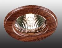 Встраиваемый неповоротный светильник WOOD 369714