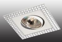 Декоративный встраиваемый светильник MIRROR 369837