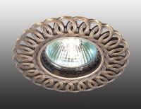 Декоративный встраиваемый светильник FLOWER 369878