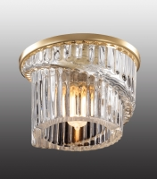 Декоративный встраиваемый светильник DEW 369901