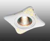 Декоративный встраиваемый светильник CERAMIC 369929