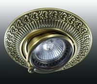 Декоративный встраиваемый поворотный светильник VINTAGE 370015
