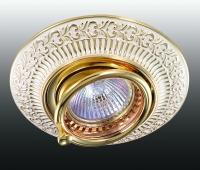 Декоративный встраиваемый поворотный светильник VINTAGE 370016