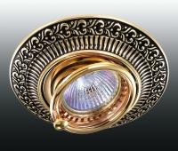 Декоративный встраиваемый поворотный светильник VINTAGE 370017