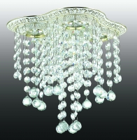 Декоративный встраиваемый светильник GRAPE 370022