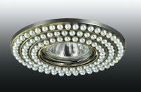Декоративный встраиваемый светильник PEARL 370143