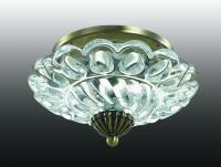 Декоративный встраиваемый светильник GEM 370156