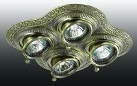 Декоративный встраиваемый поворотный светильник VINTAGE 370178